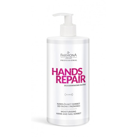 HANDS REPAIR SORBET DO DŁONI 500ml nawilżający