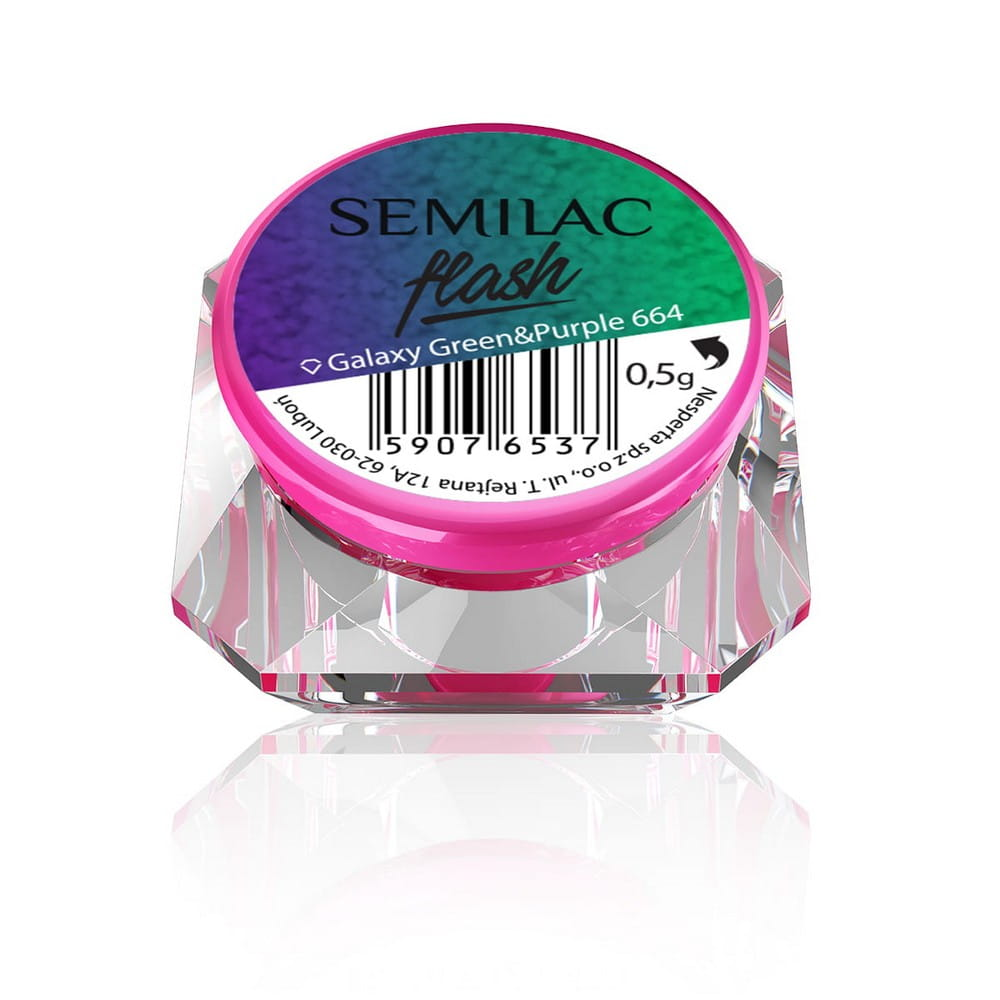 SEMILAC 665 FLASH GALAXY PURPLE&ROSA OUTLET