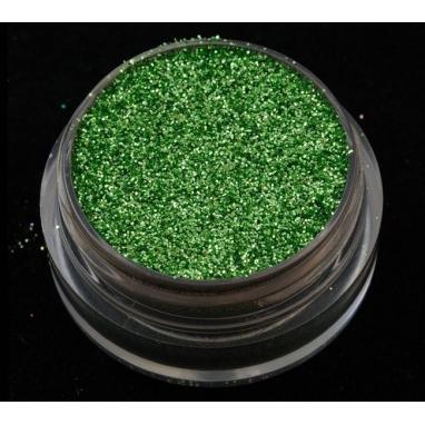 Brokat, Glitter- oliwkowy