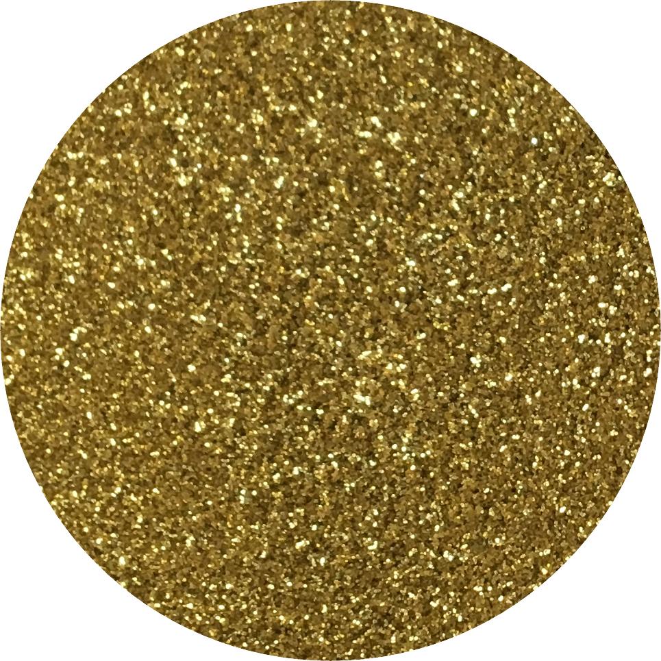 Brokat do paznokci – złoty