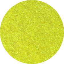 Brokat, Glitter- żólty neon