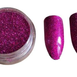 Fioletowy brokat do paznokci Glitter
