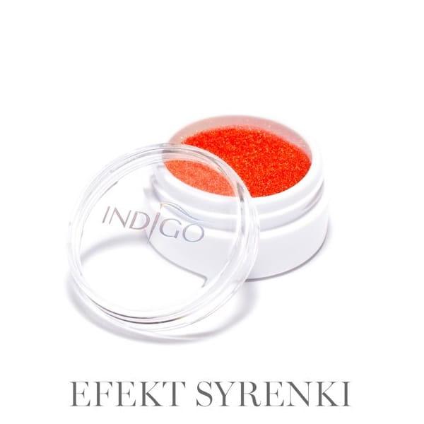 Brokat- Glitter- Indigo Pyłek Efekt Syrenki Neon Orange 2,5 g