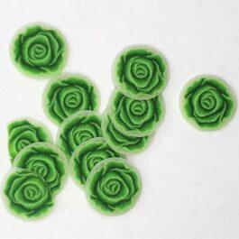 Ozdoby na paznokcie zielona kapusta