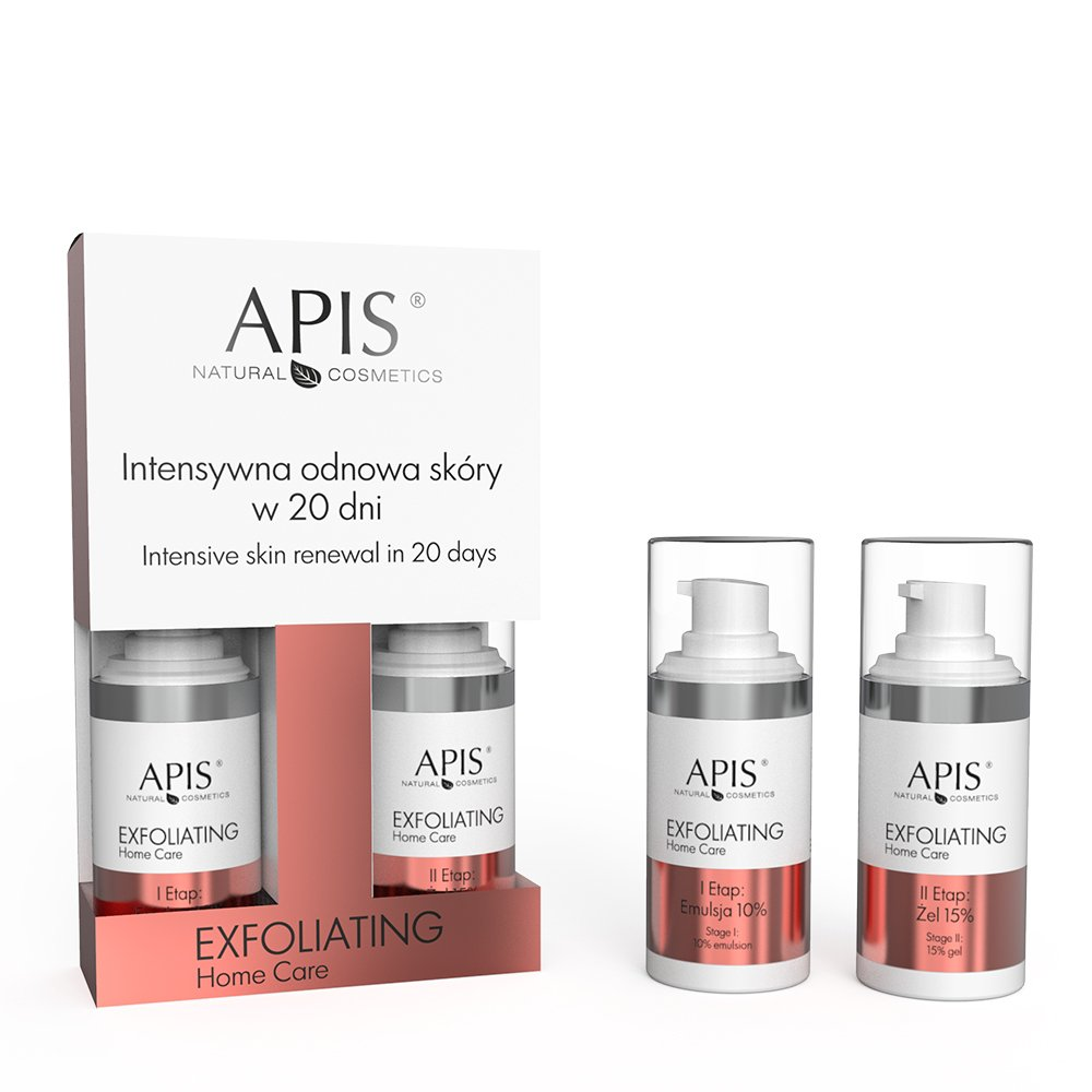 Apis Exfoliating Home Care Zestaw