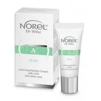Acne-Krem na niedoskonałości z LHA i jonami srebra DS 501 kosmetyki na twarz do pielęgnacji domowej