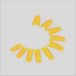 SF TIPSY ELASTO żółte transparentne 20szt MIX